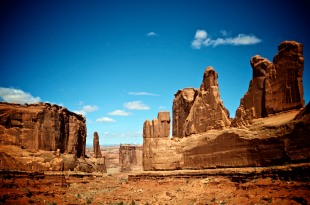 Moab Rock Formation
