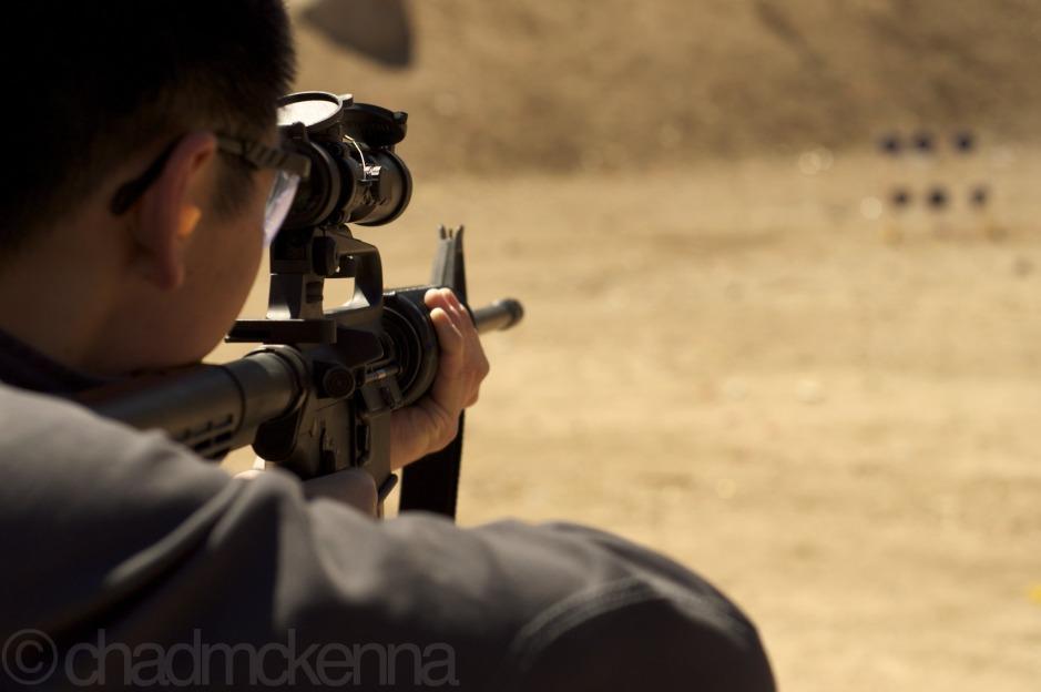 Justin Shooting