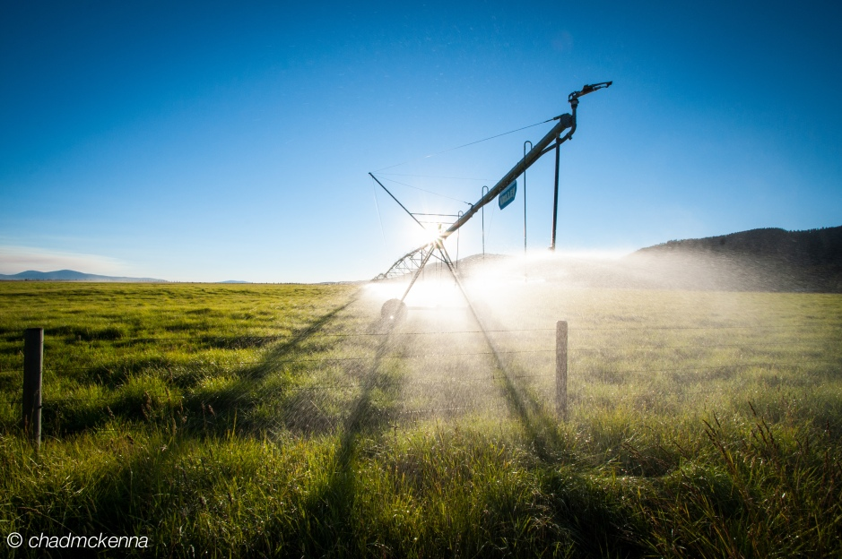 Watering the Fields in Montana