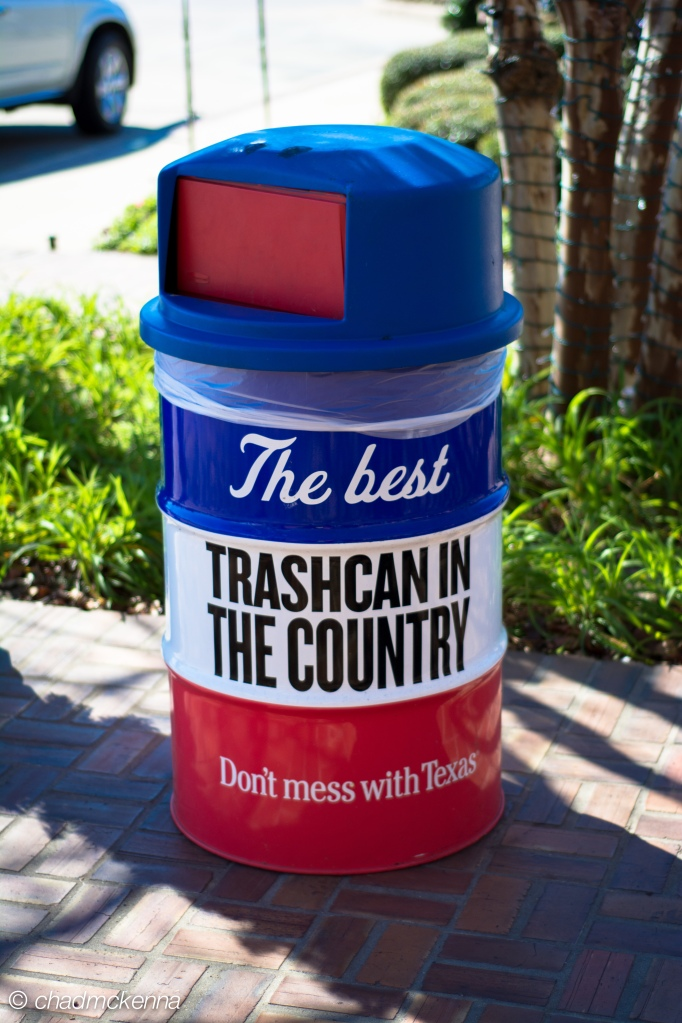 texas trash can