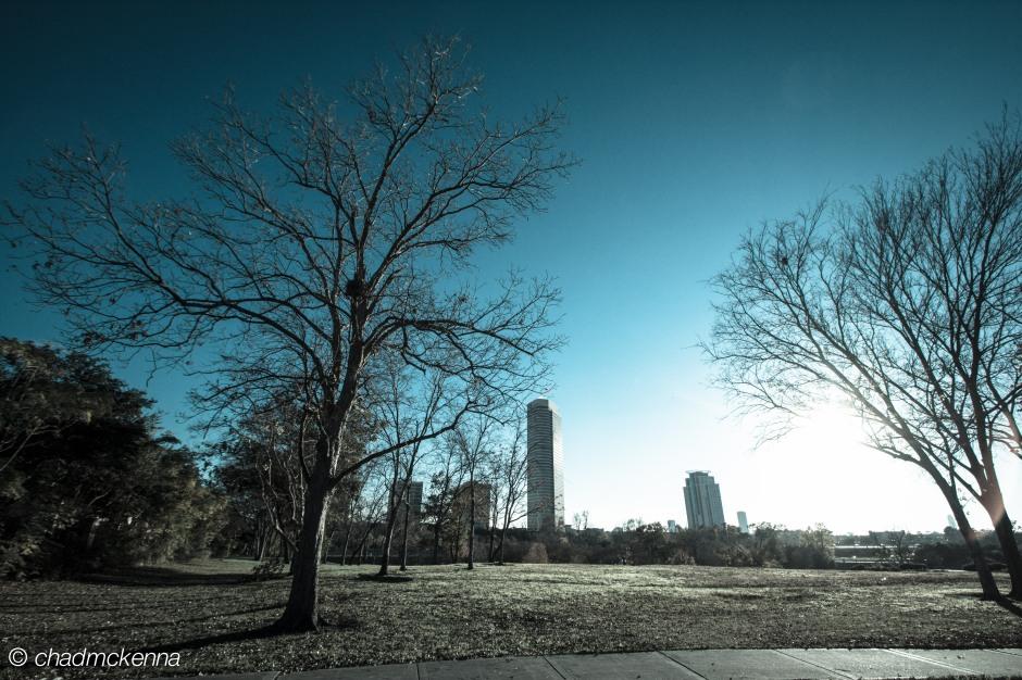 Spotts Park in Houston.