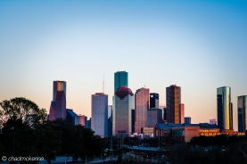 HDR (High Dynamic Range) Photo of Downtown Houston