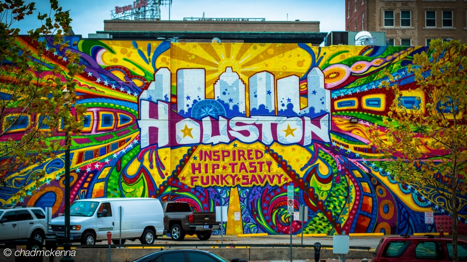 Mural in Downtown Houston