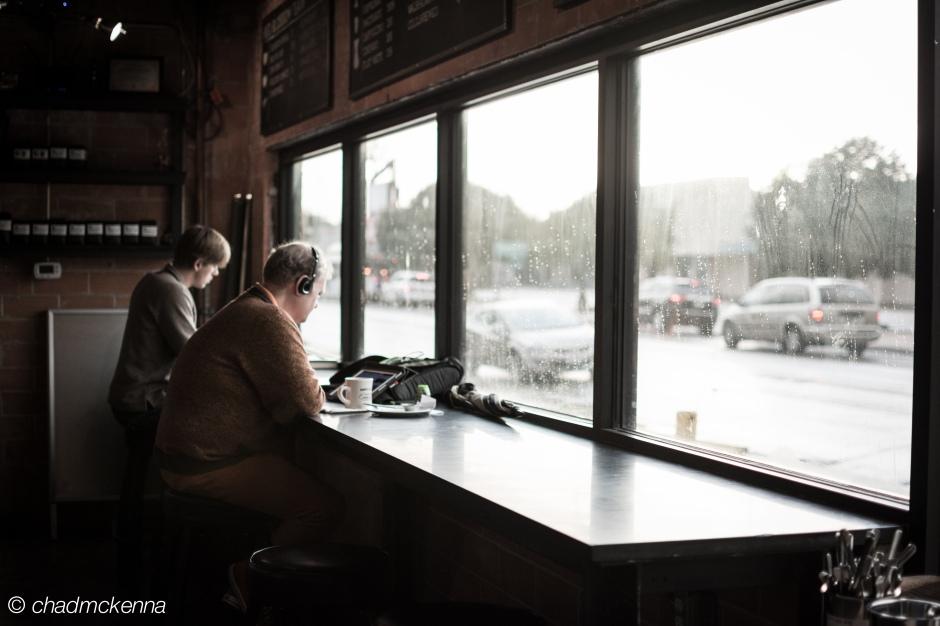 Photo taken at Blacksmith Coffee Shop in Houston.