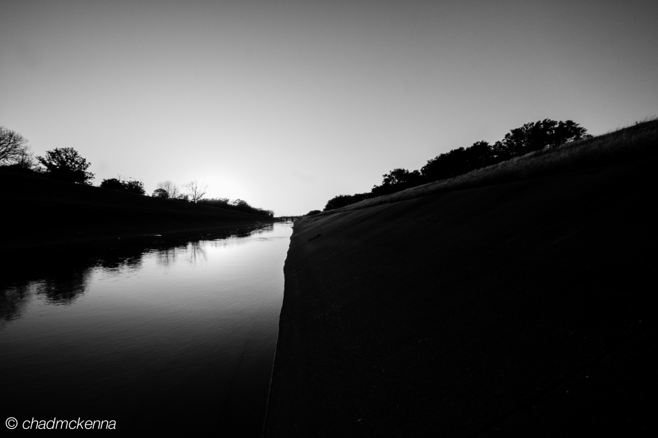 The Bayou in Black and White