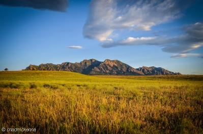 Boulder Sunrise in Colorado