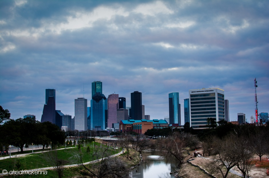 Another Mediocre HDR shot of Downtown Houston
