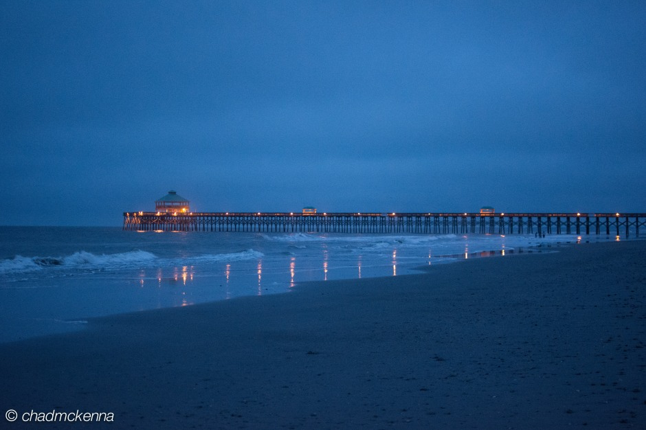 Folly Beach Pier at dawn