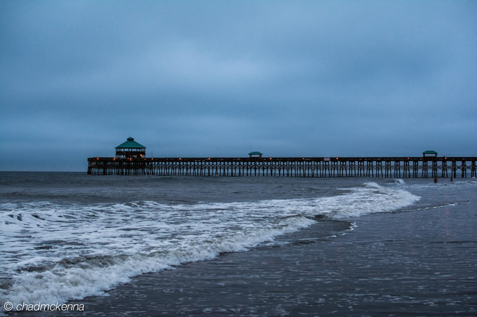 HDR shot of Folly Beach Pier