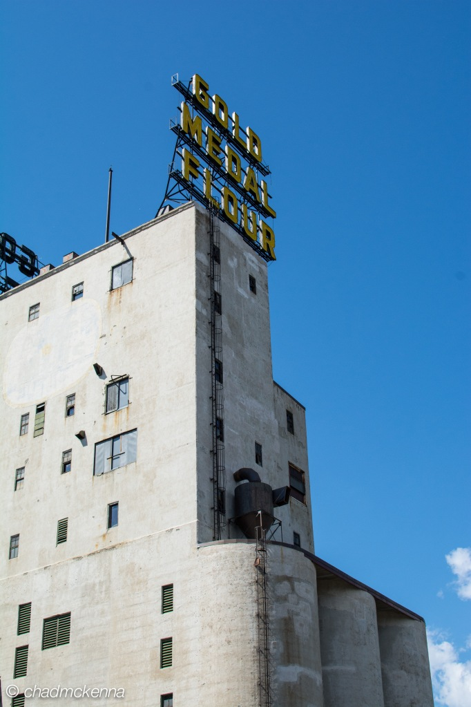 The old Gold Medal Flour plant