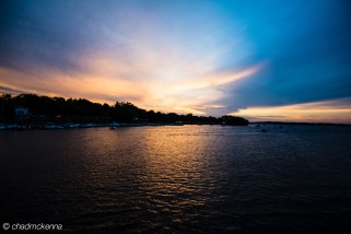 Sunset over Lake Minnetonka