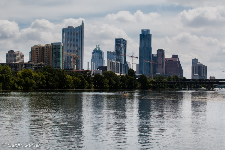 HDR shot of downtown Austin, TX
