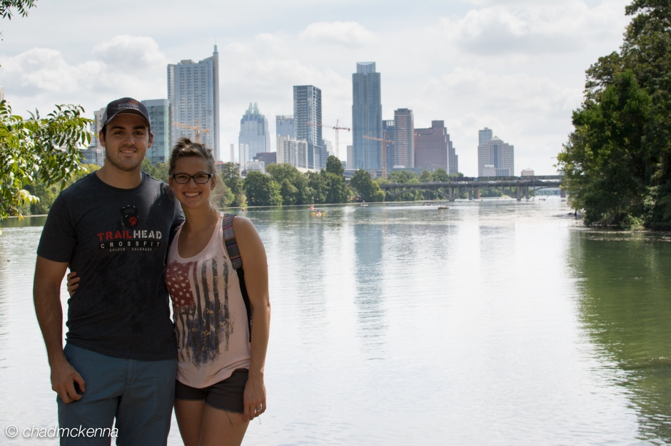 The Wife and I in Austin, TX